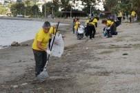 ÇEVRE TEMİZLİĞİ - Gönüllüler Çevre Temizliği Yaptı