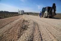 YOL ÇALIŞMASI - Haliliye'den Dağeteği'nde Yol Çalışması