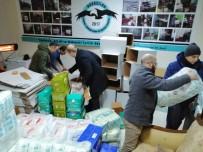 ALLAH - Havacılar Elazığ'a yardım kolileri gönderdi
