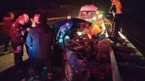 KıRıM - Kamyona Arkadan Çarpan Otomobil Bariyerlere Savruldu Açıklaması 1 Ölü