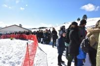 Keltepe Kayak Merkezi'nde Ziyaretçi Yoğunluğu
