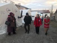ALLAH - Kızılay Yeşilyurt Şubesi De Depremde Etkin Görev Yaptı
