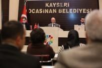TÜRK BAYRAĞI - Kocasinan Meclisi, Huzur Hakkını Depremzedelere Bağışladı