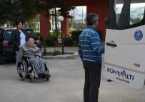 KONYAALTI BELEDİYESİ - Konyaaltı Belediyesi'nden Engelli Bireylere Ulaşım Kolaylığı