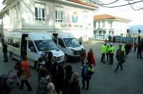 12 EYLÜL - Mudanya'da Okul Servisleri Denetlendi