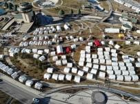 SPOR BAKANLIĞI - Okulların 10 Şubat'ta Açılacağı Elazığ'da Çadır Kentlerde Yaşam Sürüyor