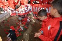 EDREMİT KÖRFEZİ - Şampiyonluk Kupasını Başkanlarının Mezarına Götürdüler