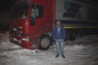 ALLAH - Soğuk Hava Sürücülere Gece Nöbeti Tutturdu