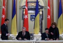 SERBEST TICARET ANLAŞMASı - Türkiye Ve Ukrayna Arasında 7 Anlaşma İmzalandı