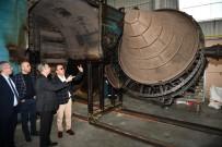 ALİ İHSAN SU - Vali Su, MTOSB'de Fabrikalarda İnceleme Yaptı