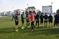 SARIYER - Cihat Arslan Manisa FK İle İlk Antrenmana Çıktı