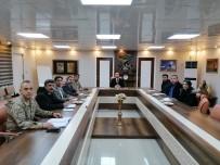 İPEKYOLU - İpekyolu'nda 'Türkiye Afet Müdahale Planı Değerlendirme Toplantısı' Yapıldı