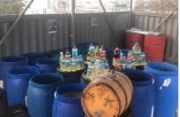 ALAY KOMUTANLIĞI - Tekirdağ'da 3 Ton Sahte İçki Ele Geçirildi