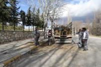 KAYHAN - 10 Metrelik Kavak Ağacı Minibüsün Üzerine Devrildi