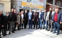 SAADET PARTİSİ - Başkan Sandal'dan Siyasi Partilere Ziyaret