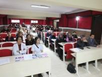 ERKEN TEŞHİS - Burhaniye'de Kursiyerlere Kanserde Erken Teşhisin Önemi Anlatıldı