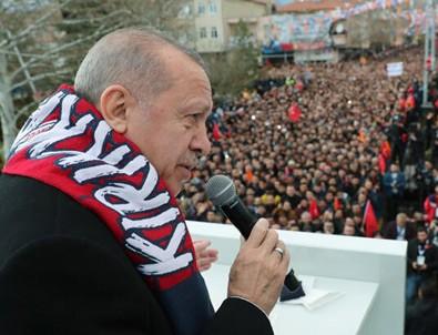 Cumhurbaşkanı Erdoğan'dan çığ faciasına ilişkin açıklama