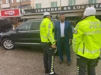 İLLER BANKASı - Kahta'da Belediyenin Makam Aracına El Konuldu