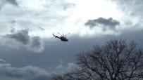 KURBAĞA - Kızını Kurtarmak İçin Irmağa Atlayan Baba, Helikopter Destekli Aranıyor