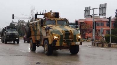 Komandolar Hatay'ın Suriye sınırına hareket etti