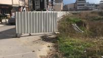 Lodos Pazar Yeri İnşaatını Vurdu