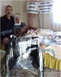 TEKERLEKLİ SANDALYE - Malazgirt'te Engellilere Tekerlekli Sandalye Desteği