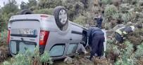 SARIYER - Şarampole Yuvarlan Otomobil 30 Dakika Arandı