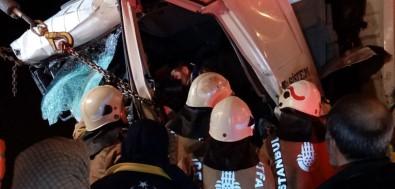 TEM Otoyolu'nda kaza: Ölü ve yaralılar var