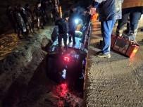 Uçak kazasına giden polis aracı kaza yaptı!