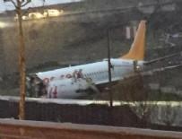 Uçak kazasından sonra yaralılar otobüsle taşındı!