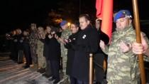 SÖZLEŞMELİ ER - Çukurca'da Şehit Olan Askerin Naaşı Memleketine Gönderildi