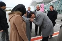 SİVAS VALİSİ - Fırtına Nedeniyle Şehit Cenazesi Tokat'a İndirilemedi