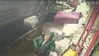 KOÇAK - İzmir'de Bir Kadın Ölümden Böyle Kurtuldu