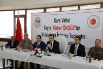 YEREL YÖNETİM - Kars Valisi Türker Öksüz Digor'da Muhtarlarla Bir Araya Geldi