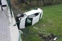 DEREKÖY - Samsun'da Otomobil Şarampole Yuvarlandı Açıklaması 1 Yaralı