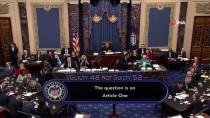 TRUMP - Trump Senato'daki Oylamada Aklandı