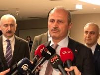 ÇİNLİ - Bakan Turhan, Uçak Kazasında Yaralananları Hastanede Ziyaret Etti