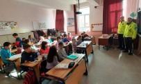 TRAFİK KURALLARI - Hisarcık'ta İlkokul Öğrencilerine Trafik Eğitimi