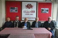 TEKERLEKLİ SANDALYE - Mazlumder Şube Başkanı Taş Açıklaması 'KHK Mağdurlarına Hac Yasağı Zulümdür'