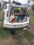 ALI YıLDıZ - Otomobil İle Otobüs Çarpıştı, Bir Kişi Ağır Yaralandı
