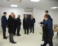 AYDIN VALİSİ - Vali Köşger, Efeler Millet Kıraathanesi'ni İnceledi