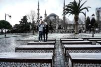 SULTANAHMET - İstanbul'da Kar Manzaraları
