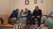 TEKERLEKLİ SANDALYE - Başkan Şayir'den Minik Yusuf'a Sevindiren Ziyaret