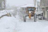 İPEKYOLU - İpekyolu Belediyesinden Karla Mücadelede Çalışması