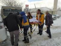 SERVİS ARACI - Karda Mahsur Kalan Diyaliz Hastası İçin Seferberlik