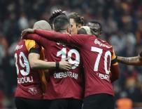 SARı KıRMıZıLıLAR - Galatasaray 8'de 8 yaptı