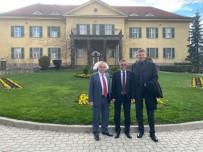 Başkan Topaloğlu Almanya Büyükelçisiyle Kemer'i Konuştu