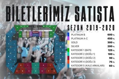 Trabzonspor-Medipol Başakşehir Maçı Biletleri Satışa Sunuldu