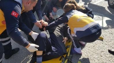 Devrek'te Trafik Kazası Açıklaması 1 Yaralı
