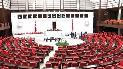 Meclis Koronavirüse Karşı İlaçlandı